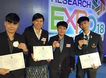 การประกวด Thailand Research Expo 2018